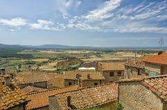 Tuscany village Stock Photos
