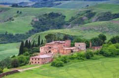 Tuscany village Stock Photos
