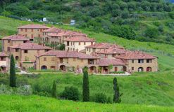 Tuscany village Stock Photo