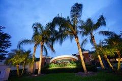 Tuscany w Tampa palmy społeczności zdjęcie royalty free