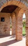 Tuscany wall Stock Image