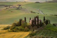 tuscany willa zdjęcie stock