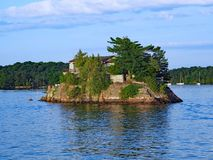 Tusen öar arkivfoto