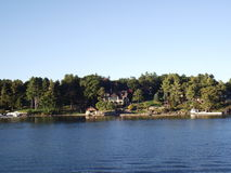 Tusen öar och Kingston i Ontario, Kanada Royaltyfri Fotografi