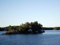 Tusen öar och Kingston i Ontario, Kanada Arkivfoto