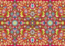 Tusen blommor vektor illustrationer