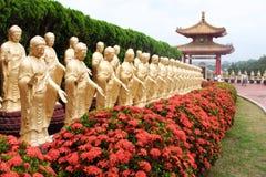 Tusen buddha Royaltyfri Bild