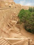 Tusen buddha eller Bezeklik grottor Arkivbilder