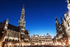 Tusen dollar förlägger i Bryssel arkivbilder