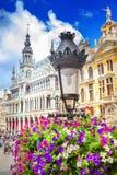 Tusen dollar förlägger i Bryssel royaltyfri foto