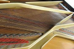 tusen dollar inom piano Arkivbilder