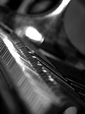 tusen dollar keys pianot royaltyfri foto