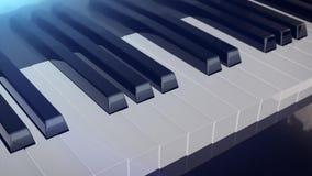 tusen dollar keys pianot Royaltyfri Illustrationer