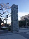 Tusen dollar parkerar - LOS ANGELES royaltyfria bilder