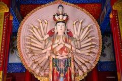 Tusen-handen Kwan-yin Arkivfoton