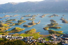 Tusen holme sjö Royaltyfria Bilder