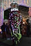 Tusker που φέρνει το Karanduwa, Σρι Λάνκα Στοκ εικόνες με δικαίωμα ελεύθερης χρήσης