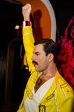 Tussauds de la señora, museo de la cera Atracción turística Figura de cera de Freddie Mercury fotos de archivo libres de regalías