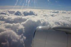Tussen de wolken en de hemel… Royalty-vrije Stock Fotografie