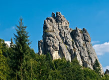 Tustan Rocks Royalty Free Stock Images