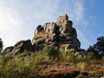 Tustan Rocks Royalty Free Stock Image