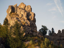 Tustan Rocks Stock Image