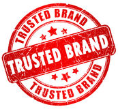 Tusted brand stamp