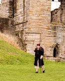 Tut bury castle, characters Stock Photography