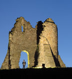 Tut bury castle, characters Stock Image