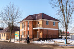 Tutaev, Ρωσία - 28 Μαρτίου 2016 Αρχιτεκτονική και γενική άποψη της πόλης Στοκ Εικόνες
