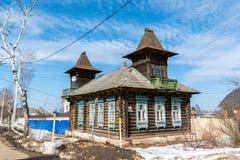Tutaev, Ρωσία - 28 Μαρτίου 2016 Αρχιτεκτονική και γενική άποψη της πόλης Στοκ εικόνα με δικαίωμα ελεύθερης χρήσης