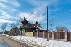 Tutaev, Ρωσία - 28 Μαρτίου 2016 Αρχιτεκτονική και γενική άποψη της πόλης Στοκ φωτογραφία με δικαίωμα ελεύθερης χρήσης