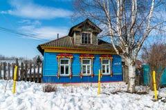 Tutaev, Russland - 28. März 2016 Architektur und allgemeine Ansicht der Stadt Lizenzfreie Stockfotos