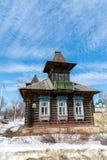 Tutaev, Russland - 28. März 2016 Architektur und allgemeine Ansicht der Stadt Lizenzfreies Stockfoto
