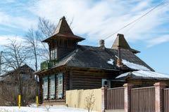 Tutaev, Russland - 28. März 2016 Architektur und allgemeine Ansicht der Stadt Lizenzfreie Stockfotografie