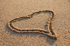 tutaj miłość Zdjęcie Royalty Free
