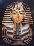 Tutankhamen mask stock images