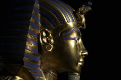 Tutankhamens golden mask. Beautiful Tutankhamens golden mask Stock Image