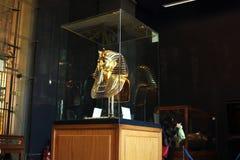 Tutankhamun在埃及博物馆 图库摄影