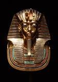 Tutankhamun的埋葬面具 库存图片