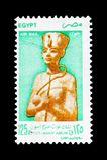 Tutankhamun,古老埃及国王serie国王,大约1998年 库存照片