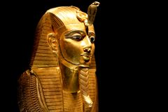 tutankhamun выставки Стоковое фото RF