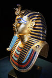Tutankhamun死人面模拷贝 免版税库存图片