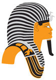Tutankhamun. The figure shows the mummy mask of Tutankhamun Stock Image