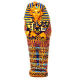 Tutankhamun Royalty-vrije Stock Foto's
