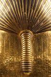 Tutankhamun's burial mask stock photography
