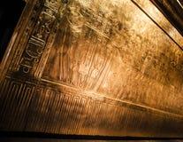 Tutankhamun's sarcophagus Royalty Free Stock Photos