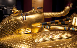 Tutankhamun's sarcophagus Royalty Free Stock Photography