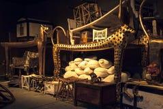 Tutankhamuns gravvalv arkivfoton