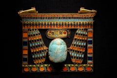 Tutankhamuntentoonstelling in Parijs royalty-vrije stock foto